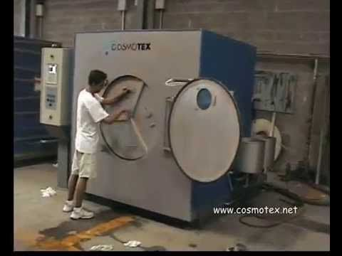 COSMOTEX washing and drying machines for textile industry/COSMOTEX lavadoras industriales y secadoras industriales para la industria textil - YouTube