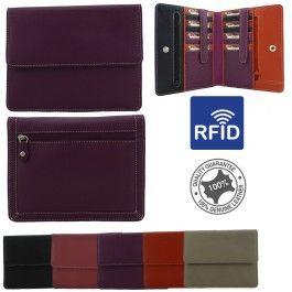 Genuine Full Grain Leather Womens Fashion Satchel Cross Body Shoulder Messenger Sling Bag RFID Protected Handbag