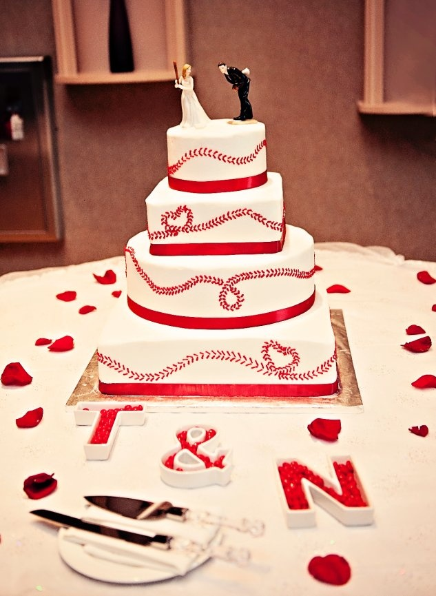 Rose Alene Photography; Baseball cake; Sharon's Custom Cakes