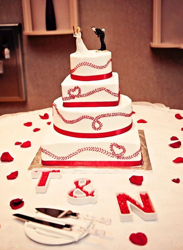 Rose Alene Photography; Baseball cake; Sharon's Custom Cakes