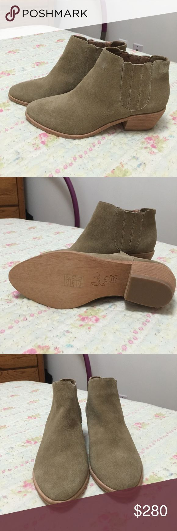 Joie shoes It's half ankle boots, brand new. It is just doesn't fit on me Joie Shoes Ankle Boots & Booties