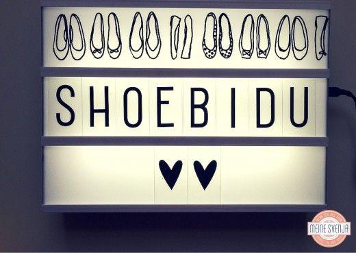 lightbox DIY Motiv shoebidu mit ballerinas www.meinesvenja.de