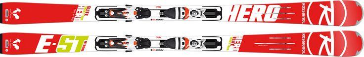 Matériel de ski hiver 2015 retrouvez le ski homme de compétition HERO ELITE ST Ti Rossignol au meilleur prix en magasins et sur le web #ski2015 #rossignol #race