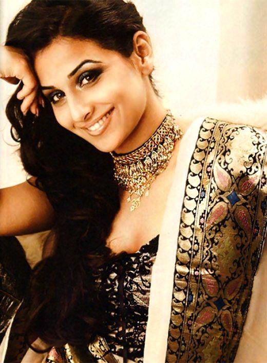Vidya Balan (b 01/01/1978 Palakkad, Kerala, India) Bollywood actress