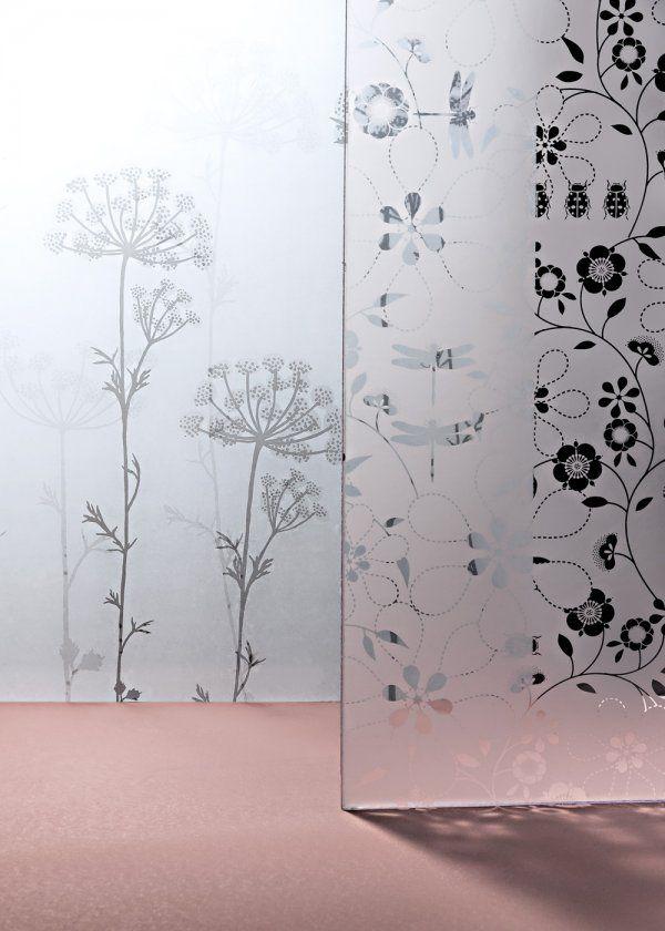 Les 68 meilleures images du tableau paroi de douche sur pinterest autocollants decoration - Film vitre salle de bain ...