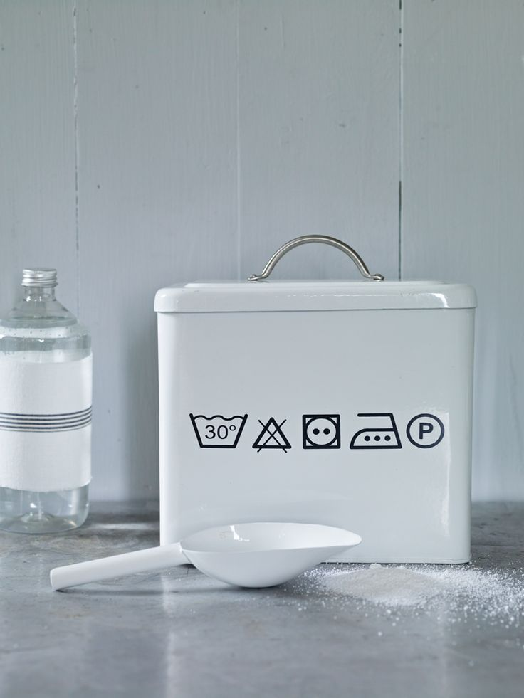 Washing Powder Box - DIY with a silhouette or maybe even water slide decals