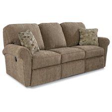 Jenna Power La-Z-Time® Full Reclining Sofa---in Burgundy red