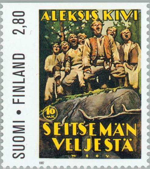 Alexis Kivi stamp