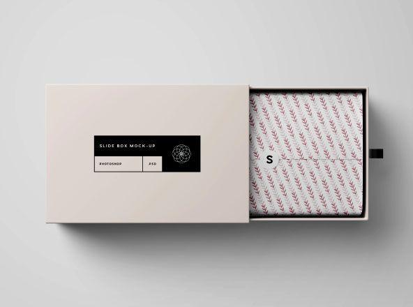 Download Download Free Premium Psd Mockups Collection 18 Box Mockup Slide Box Mockup