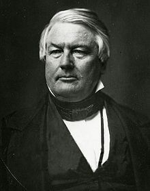 Millard Fillmore (January 7, 1800 – March 8, 1874) was the 13th President of the United States (1850–1853) and the last member of the Whig Party to hold the office of president. As Zachary Taylor's Vice President, he assumed the presidency after Taylor's death. He was the only president to have been born in a centennial year.