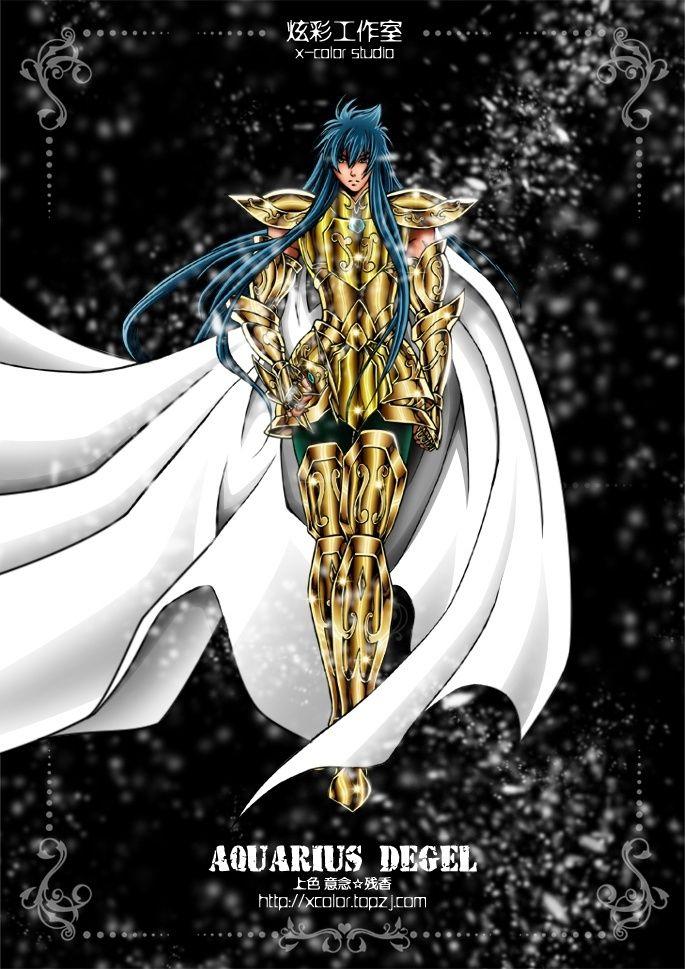Saint Seiya - Gold Saint Aquarius no Degel - Lost Canvas