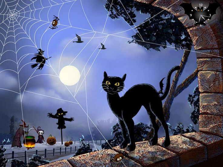 Free Halloween Again screensaver with its inhabitants, no ...