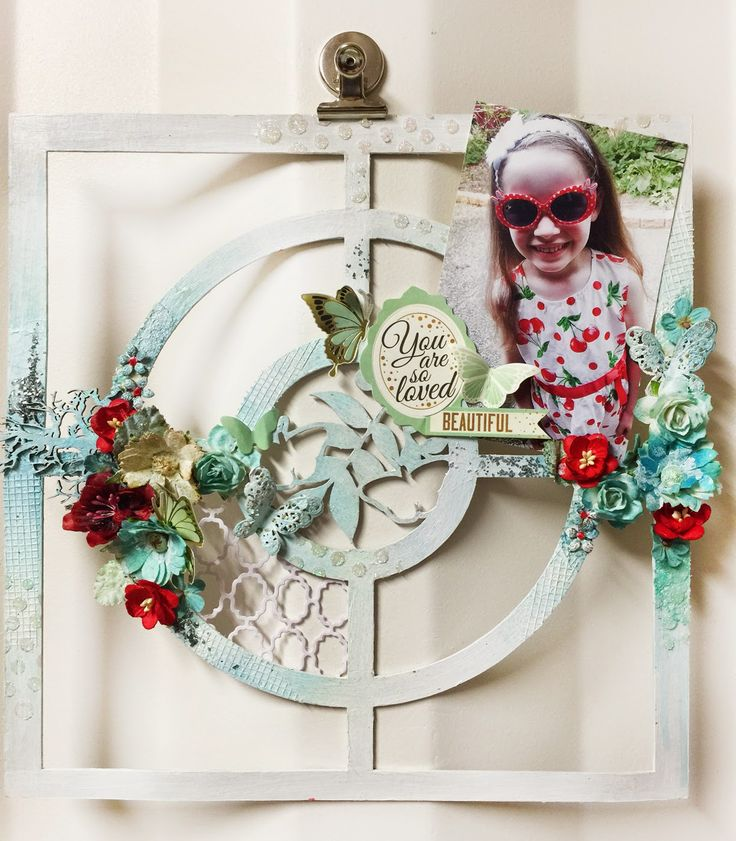 Textured chipboard with Alicia Barry