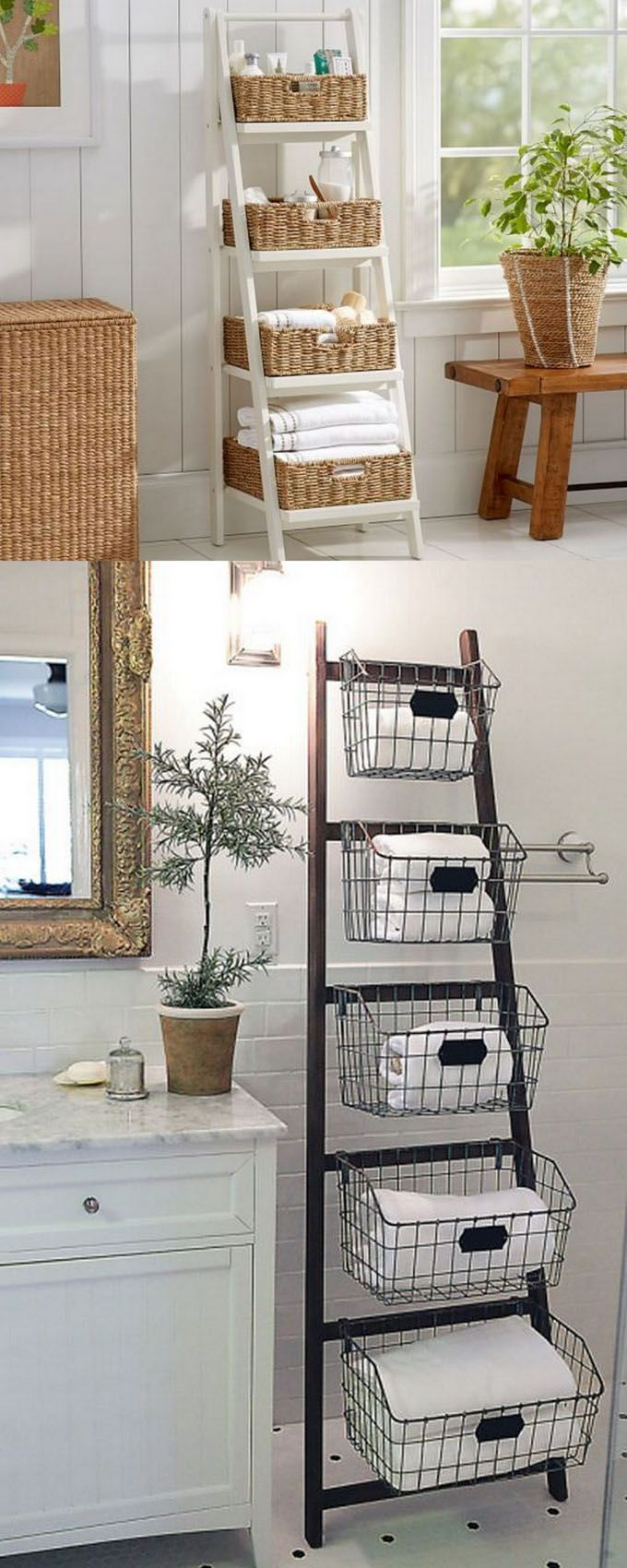 18 Inspiring Ladder Hacks For Every Room