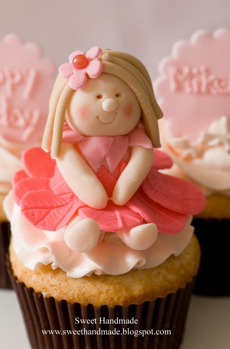 Fondant Princess Cake Toppers
