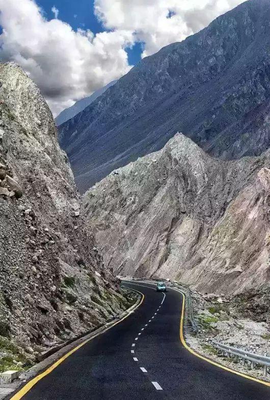Karakoram Highway in Abbottabad, Pakistan