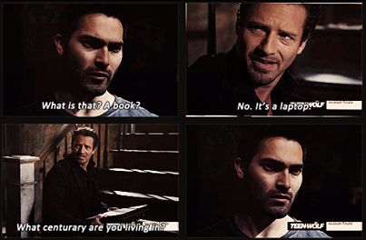 One of the million best Peter Hale Moments <3