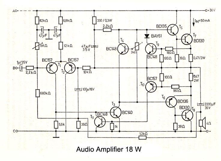 audio amp illustration