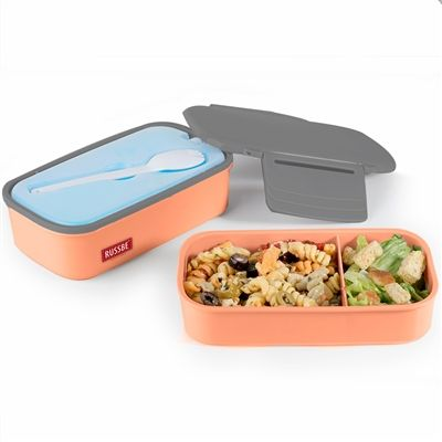 Well-balanced meals at just the right temperature   Health-conscious moms and dads will appreciate our Stack + Chill Pak Bentos with multiple compartments and included utensils.   #Stack #WasteFree #Bento #LunchBox #Lunch #Orange #Work