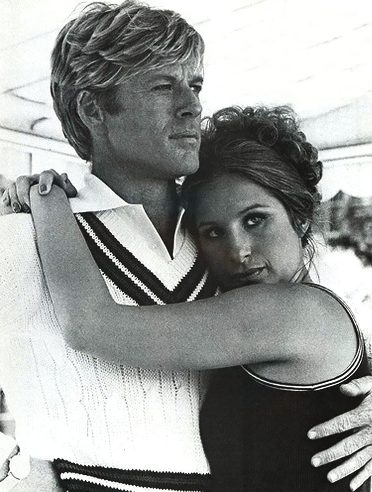 Robert Redford (Hubbell) and Barbara Streisand (Katie): The Way We Were, a1973 film directed by Sydney Pollack.