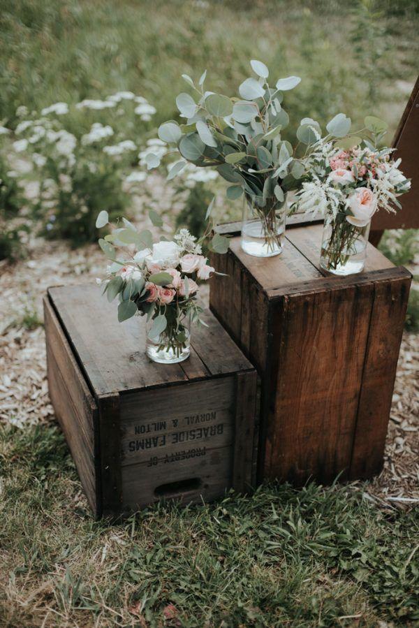 Rustic Boho Wedding at South Pond Farms