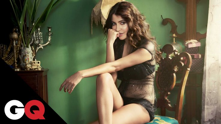 Hot Anushka Sharma on GQ Magazine Cover - Indiansite
