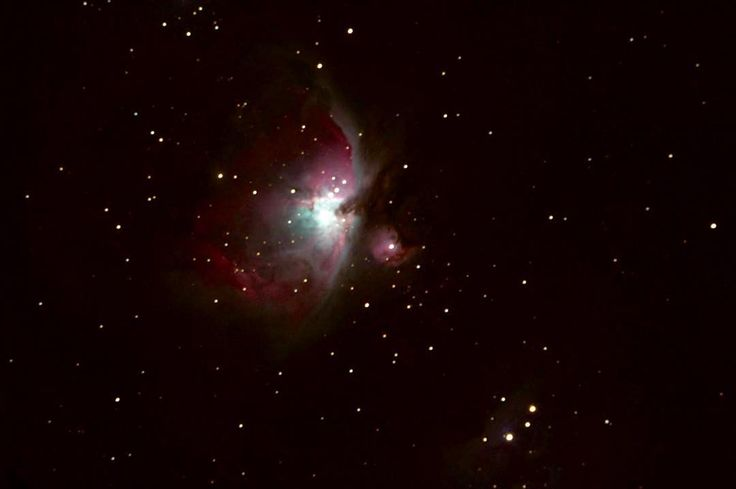 On instagram by dreaal #astrophotography #metsuke (o) http://ift.tt/1ISWP75 to get out again soon to take some photos. As much as I love snow it makes  a little difficult #orion #nebula