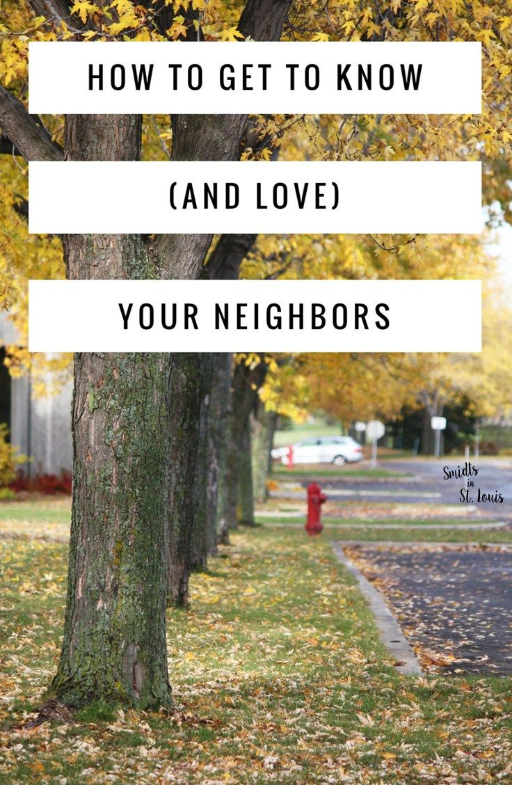 know your neighbor This is a short guide to inviting your neighbors to your party, even if you don't know them and/or are shy this guide is geared towards people who live in apartment.