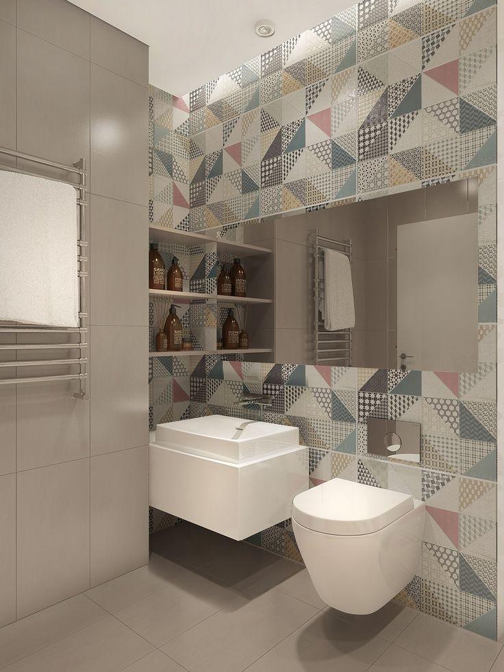 17funkywallpaperpattern Baño tropical, Diseño para el
