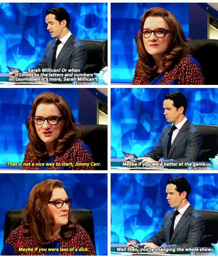 8 out of 10 cats, Jimmy Carr, Sarah Millican