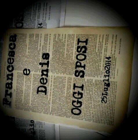 News paper sign