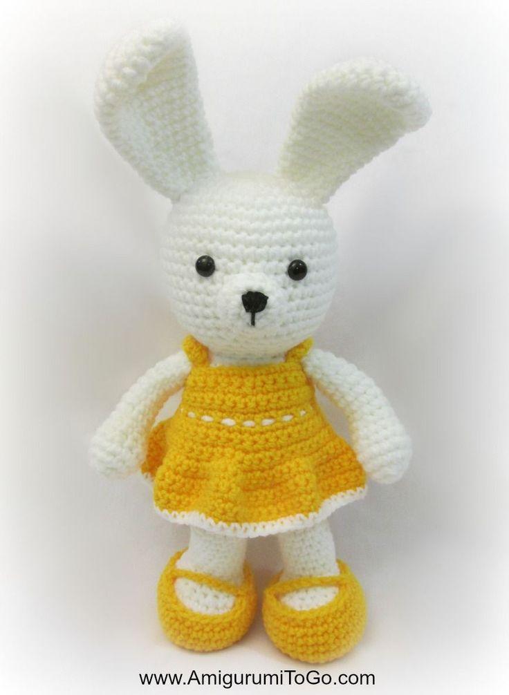 Amigurumi Bunny With Dress Free Crochet Pattern