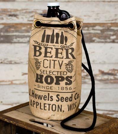 Beer City Growler Tote