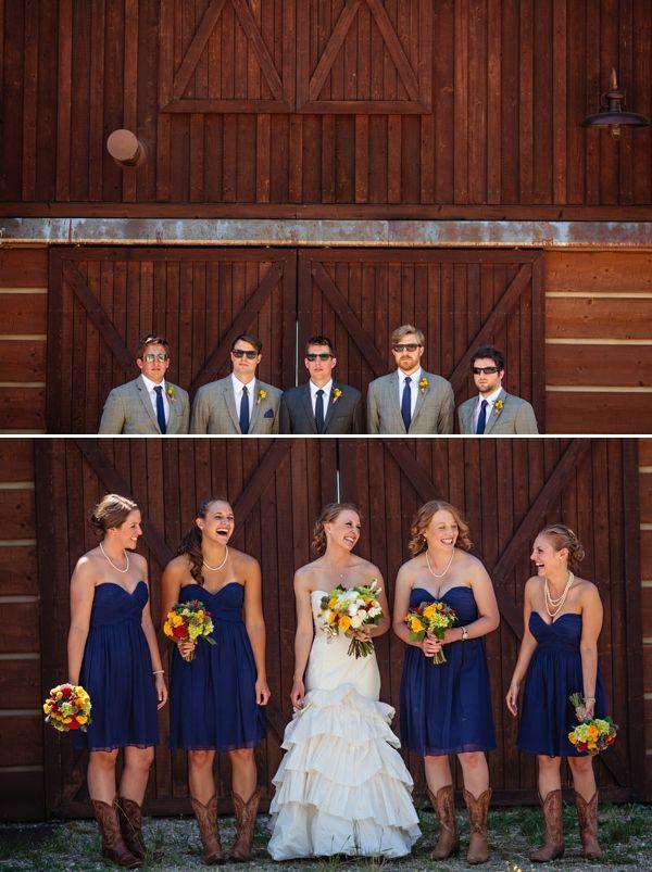 groomsmen attire rustic wedding | Mountain Ranch Wedding in Steamboat Springs | COUTUREcolorado WEDDING ...