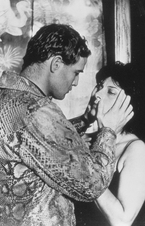 Marlon Brando and  Anna Magnani in The Fugitive Kind (1959)