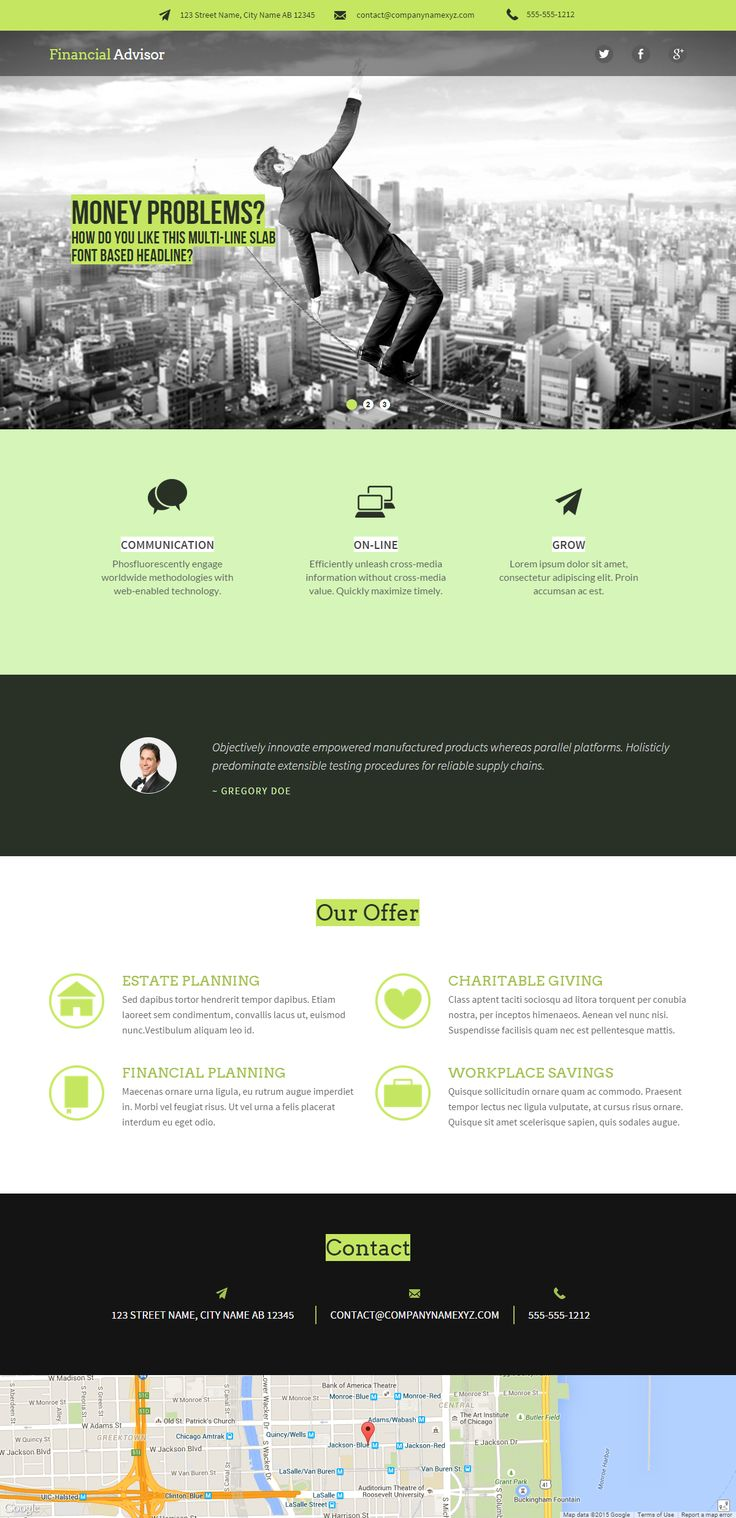 Fully editable professional business webiste template #website #design #webdesign #business #createer