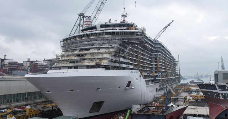 MSC Cruises Floats-Out its Newest and Largest Cruise Ship. Read the news for further details here, http://bit.ly/2gxtxl1