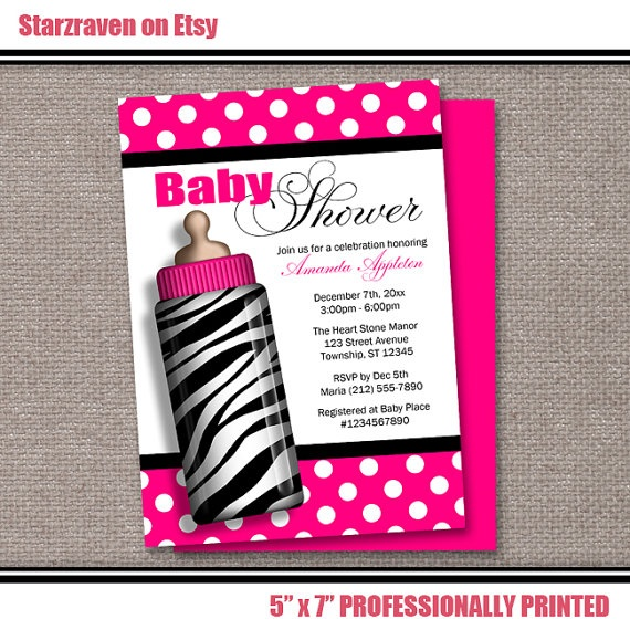 39962e05cd3f11776fed86fe0309eebd--printable-invitations-baby-shower-invitations Baby Shower Zebra Invitations