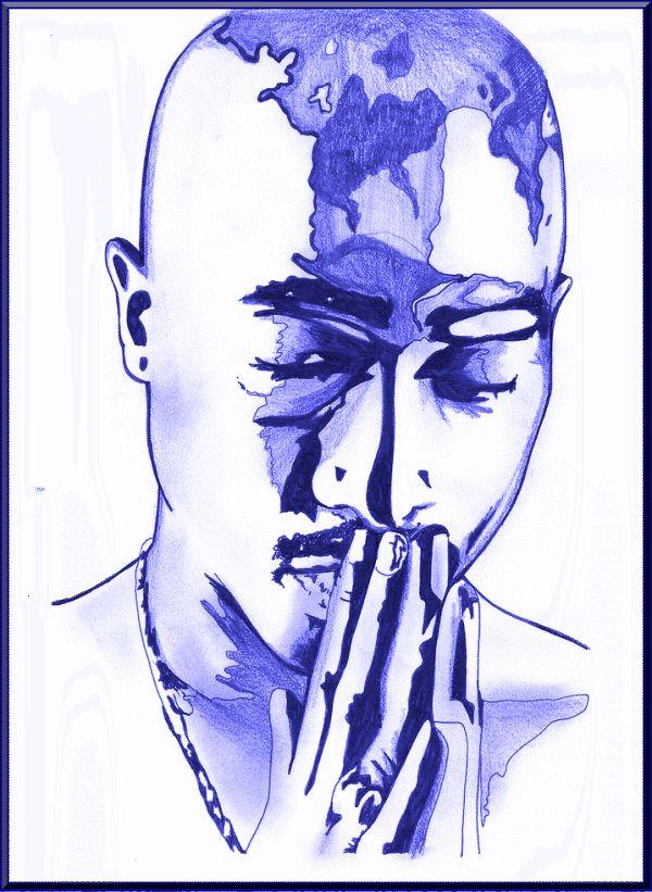 Blue tupac