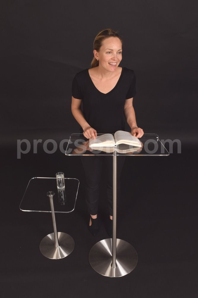 The A1 economy lectern and table by Procson Pulpits.