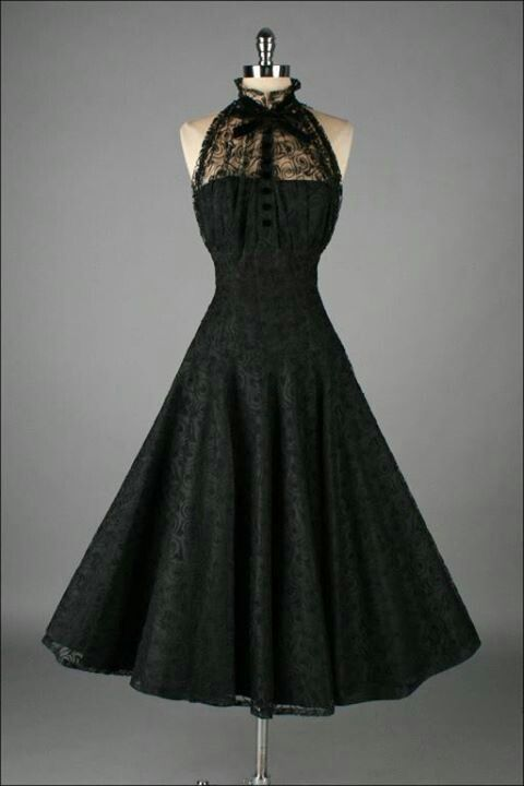 Vintage Black Dresses on Pinterest. A selection of the best ideas ...