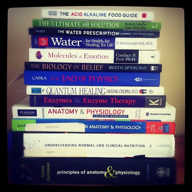 reading list for my 1st holistic nutrition class: Biochemical Foundations of Nutrition.