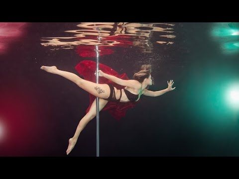 Aqua-batic: Underwater Pole Dancing Reveals The Elegance Of The Sport - YouTube