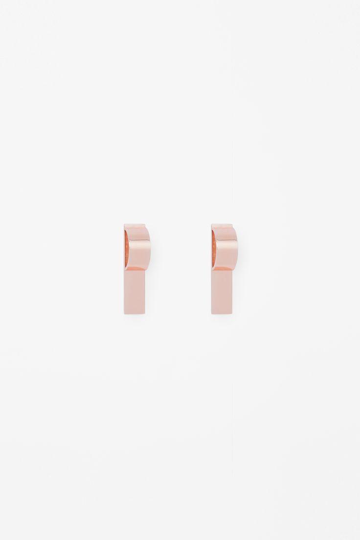COS | Metal plate earring