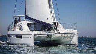 Katamaran, Segeln, Meer, Wassersport