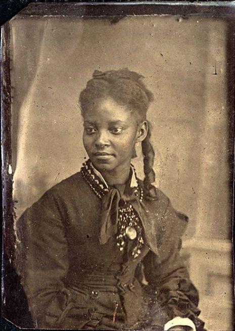 black victorian woman
