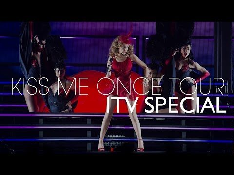 Kylie Minogue   Kiss Me Once Tour 2014 [ITV Special Broadcast] - YouTube