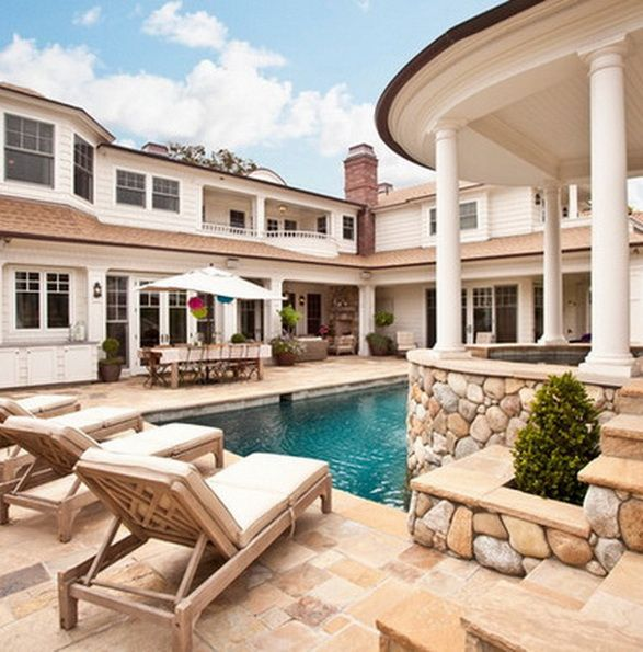 1000  images about courtyard, sunroom, fire pit, patio & pool on ...