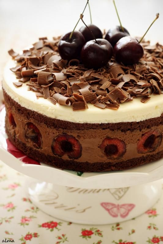 Black Forest Mousse Cake