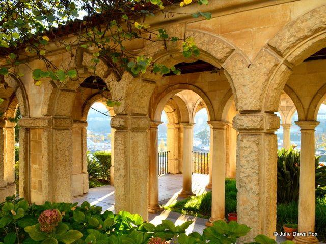Arches near the Junta da Freguesia, Rua Fernandes Tomás, Coimbra by Julie Dawn Fox in Portugal